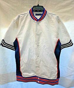 Men's Polo Ralph Lauren Chariots Warm-Up Shirt, White, Medium