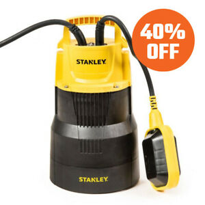 Stanley Pro Sub Submersible Pump for Clean & Dirty Water | 75 LPM
