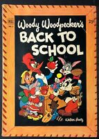 WOODY WOODPECKER BACK TO SCHOOL #1 1952 VG Comic Book 100 pgs square All New