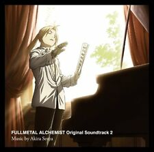 USED FULLMETAL ALCHEMIST: BROTHERHOOD ORIGINAL SOUNDTRACK 2 CD