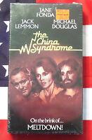 NEW The China Syndrome (VHS, 1979) Jack Lemmon, Jane Fonda, Michael Douglas