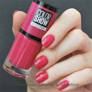 Maybelline Nail Polish Color Show 60 Seconds 06 Bubblicious  7ml   -    SEALED