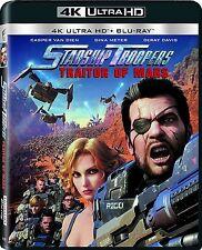 STARSHIP TROOPERS TRAITOR MARS (4K ULTRA HD) - Blu Ray -  Region free