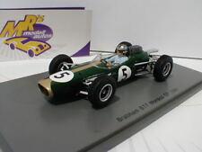 Spark S5251 - Brabham BT7 No. 5 Monaco GP Formel 1 1964 Jack Brabham 1:43