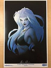 Lady Death Michael Turner Legend Limited Edition Art Print Signed by Pulido /500