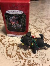 Hallmark Collector Series #8 Puppy Love 1998 Black Lab Dog In Original Box