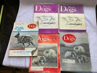 Popular Dogs Magazine Lot of 5 1960s 70s Westminster Pictorial 1961+71 Etc