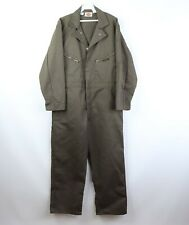 NOS Vintage 60s Dickies 42 Short Spell Out Mechanic Coveralls Flight Suit Green