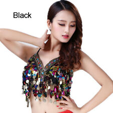 2835e26710314b Mermaid Body Chain Sequin Bralet Beach Mirror Harness Crop Top Festival Bra  New