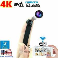 HD 4K Mini Spy Hidden Camera WIFI Wireless Camera DVR Motion Detection Screw Cam