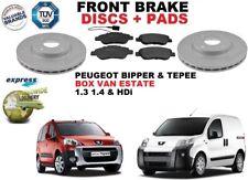 für Peugeot Bipper Tepee Kombi Van 257mm Vorderbremse Scheibensatz + BREMSBELÄGE