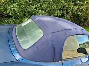 Bmw Z3 blue manual roof complete