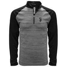 Juventus Mangas Largas Camisa Polo Negro Heather Pequeño-Xxl Licencia Oficial