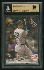 AARON JUDGE 2017 Topps NOW RC #87 BGS 10 PRISTINE NY New York Yankees