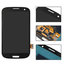 Black Full LCD Touch Screen Glass Digitizer Fr Samsung Galaxy S3 III i9300 i9305