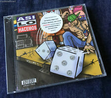 Asi lo Hacemos, Vol. 1 [Promo CD; NEW & SEALED] Underground Latin Hip Hop 2004