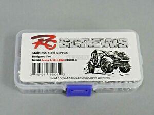 RC Screws Stainless Steel Screw Set For TRAXXAS E-REVO 380 pcs Hardware