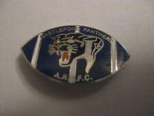 RARE OLD CASTLEFORD PS ARLFC RUGBY LEAGUE FOOTBALL CLUB ENAMEL BROOCH PIN BADGE