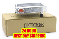 FLETCHER RADIATOR 2 CORE HI FLOW POLISHED ALLOY CLASSIC MINI 1959-92 + CAP Z2213