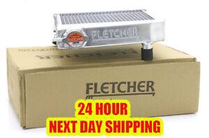 FLETCHER RADIATOR 2 CORE HI FLOW POLISHED ALLOY CLASSIC MINI 1959-92 + CAP Z2213