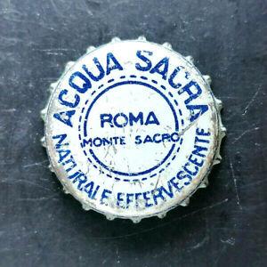 Acqua Sacra Roma tappo acqua minerale water bottle cap chapa agua Kronkorken