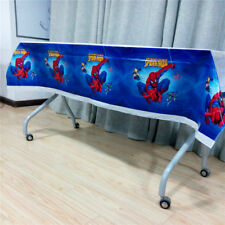 Spiderman Birthday Party Tablecloth Boys Favor Supplies Decoration Tablecover