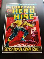 Hero for Hire 1 Beautiful VF/NM 9.0 2? Key MCU Luke Cage 1972 Marvel Comics CGC?