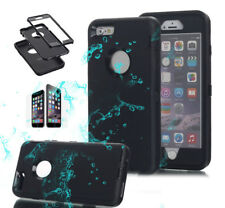Tough Armor Hybrid Shockproof Hard Case Cover For Apple iPhone X 8 7 6s Plus