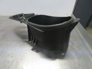EB848 2009 09 DERBI ATLANTIS BULLET 50 STORAGE BIN / SEAT MOUNT HELMET HOLDER
