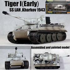 WWII German Tiger I tank SS LAH Kharkov 1943 winter 1/72 finished Easy model