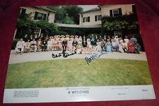 A WEDDING, Signed Lobby Card - Carol Burnett & Pat McCormick