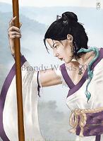 Native American Indian CENTAUR archer aceo ethnic fantasy art Brandy Woods