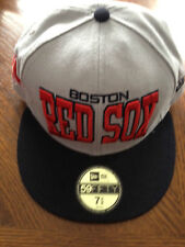 Boston Red Sox Hat. Fitted. Gray. 7 5/8. Brand New. 59FIFTY