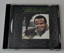 """Harry Belafonte """"All Time Greatest Hits"""" Vol 1 World Music CD"""