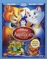 The Aristocats [Blu-ray + DVD Movie, Disney Family Animation, Region A, 2-Disc]