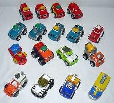 LOT SET OF 17 TONKA CHUCK AND FRIENDS DIECAST PLAY TOY CAR VEHICLES