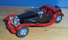 Matchbox Yesteryear Y1 Jaguar SS100 Black & Red Incomplete Base Preproduction
