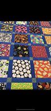 Handmade Quilt Animals Food Misc Blanket Large 5x6ft