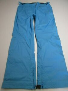 COLUMBIA Women SKi Pants Size M BLUE Waterproof Snow 34x31