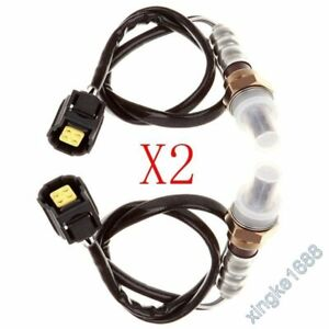 2X O2 Oxygen Sensors New Fit Jeep Wrangler 07-10 JK 3.8L Upstream and Downstream