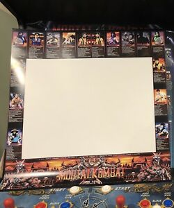 Mortal Kombat 2 Arcade Moves List Bezel Panel Artwork Art CPO Midway MK2 Midway