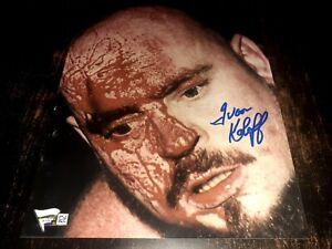 Ivan Koloff Signed 8x10 Photo Fanatics COA The Russian Bear Autograph WWE WWWF