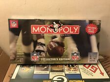 Monopoly NFL Collector's Edition All 32 Teams 2004 Hasbro SEE SEALED!