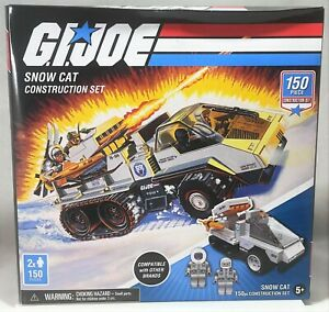 Forever Clever G.I.Joe Snow Cat with Mini Figures MISB Snow Job