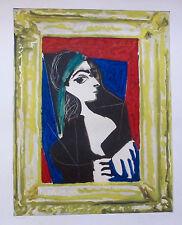 Pablo Picasso PORTRAIT DE JACQUELINE 1980 Limited Edition Lithograph