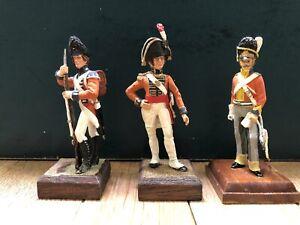 Stadden Or Similar: British Troops Of Napoleonic Wars. 70mm Metal Models