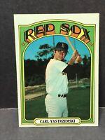 1972 Topps #37 Carl Yastrzemski Boston Red Sox NM HOF