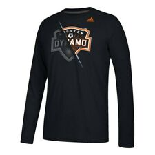 "Houston Dynamo MLS Adidas Men's Black ""Uncovered"" Climalite T-Shirt"