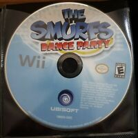 The Smurfs Dance Party   -  ( Nintendo Wii ) Tested