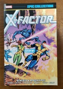 X-FACTOR Marvel Epic Collection Vol. 1 Genesis & Apocalypse 2017 TPB NEW UNREAD